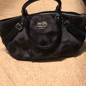 "Black ""Coach"" handbag"